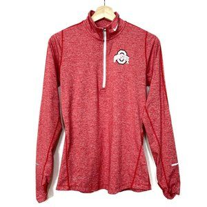 Ohio State Nike Dri-Fit Mock Neck Long Sleeve Top